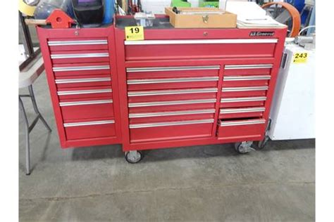 tool box end cabinet us general 13 drawer portable tool box w 7 drawer end