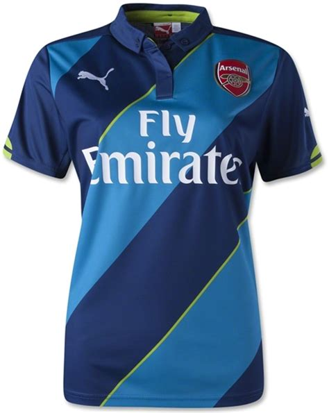 Kaos Bola Emirates jersey arsenal 3rd third 2014 2015 big match
