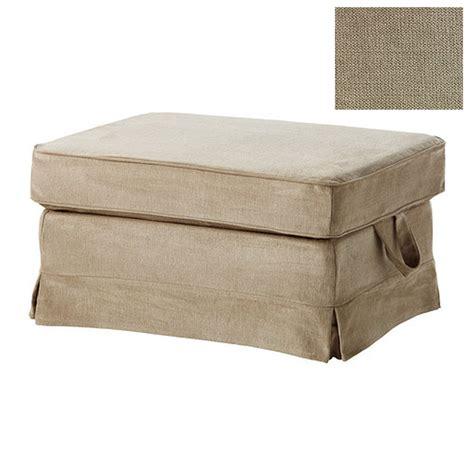 Ikea Ektorp Bromma Footstool Cover Ottoman Slipcover Ektorp Ottoman