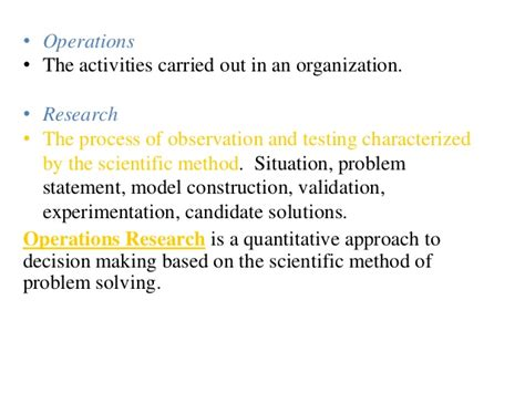 Closing The Mba Decision by Applications Of Operation Research In Business
