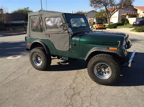green jeep cj 1979 jeep cj5 base green 4 2l manual 4wd jeep cj