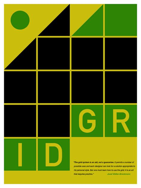 grid layout poster design tom davie grid