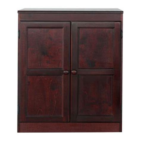 pantry shelves home depot concepts in wood multi use storage pantry in cherry kt613c