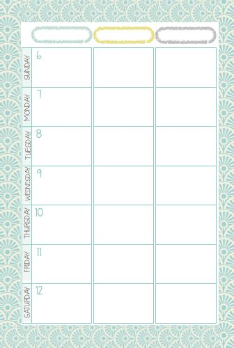 mormon mom planner printable mormon mom planners monthly planner weekly planner