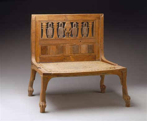 egyptian couch baby throne for future king king tut tomb child chair