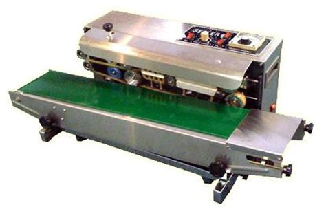 fr 900 heat sealing machine horizontal continuous band