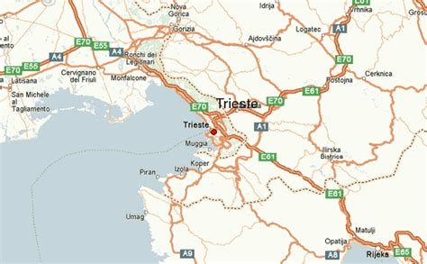 triest map trieste location guide