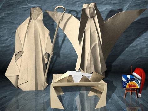Origami Shepherd - nativity by several artists designers and
