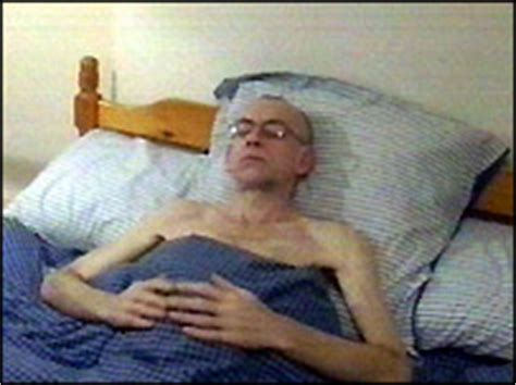 cancer man in bed bbc news uk england southern counties cancer