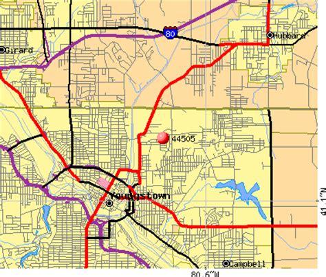 zip code map youngstown ohio 44505 zip code youngstown ohio profile homes