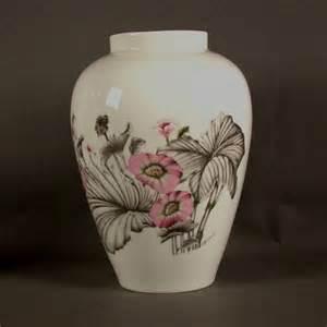 rosenthal vasen rosenthal grosse porzellan vase mit floralem motiv no 2020