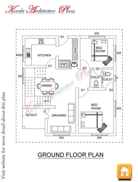 kerala architecture plans dec  ff  square feet