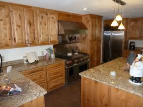 knotty alder cabinets eclectic kitchen other by