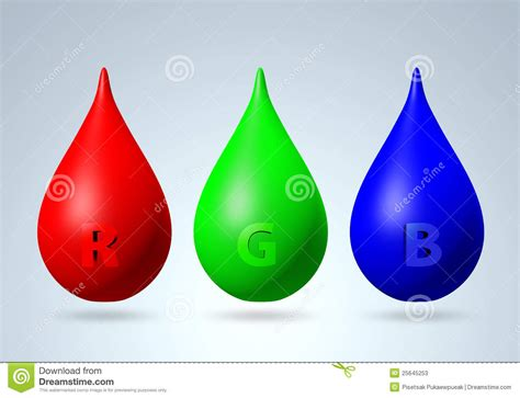 3d color 3d rgb color stock illustration image of mode fall
