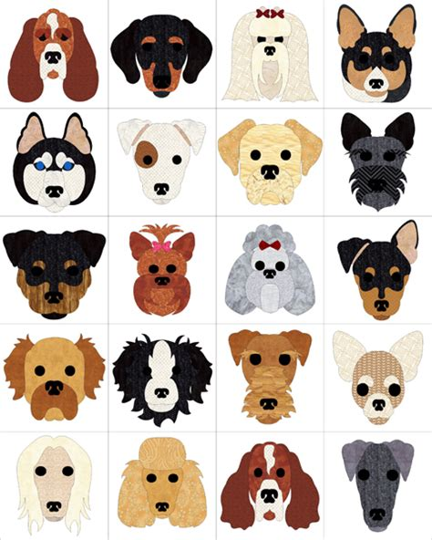 Dog Days Quilt Pattern FCP 030 (advanced beginner, wall