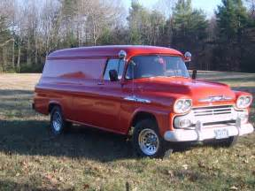 1958 chevy apache 38 panel truck 1 ton trucks
