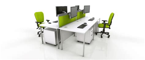 Icarus Office Furniture Modern Contemporary Office White Office Desks Uk