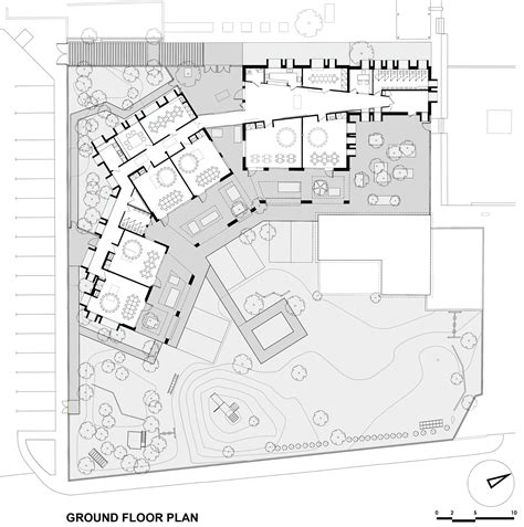 floor plan architect the kindergarten of the german school of athens potiropoulos d l architects archdaily