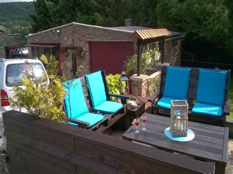 patio furniture made with pallets outdoor wooden pallets made furniture pallet ideas