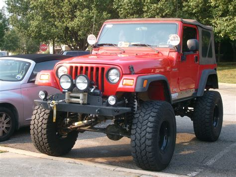 jeep lifted 6 6 inch suspension lift jeep tj all the best suspension