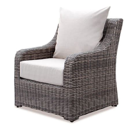 ae outdoor cherry hill wicker outdoor lounge chair with cast ash cushion 569104cas the home depot
