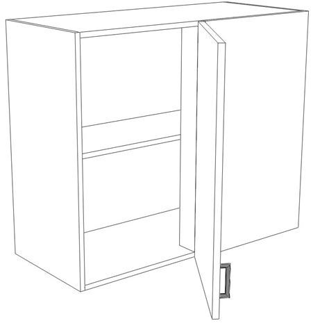 how to build a blind corner cabinet ikea kitchen hack a blind corner wall cabinet perfect for