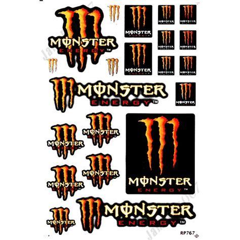 Monster Energy Aufkleber Orange by Mrs0120 Orange M0nster Energy Decals Stickers Motorcycle