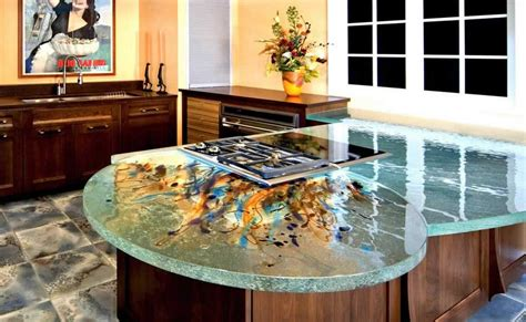 Kitchen Countertop Designs Photos Kitchen Countertops Materials Designwalls