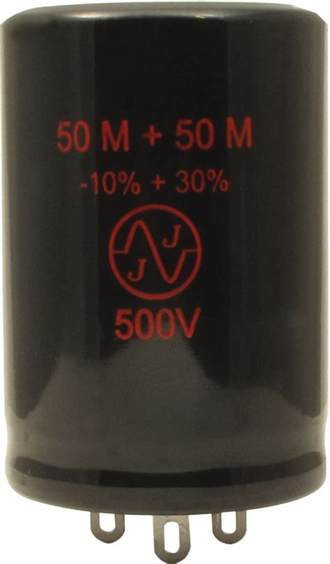 jj electrolytic capacitor capacitor jj electronics 500v 50 50 181 f electrolytic lified parts