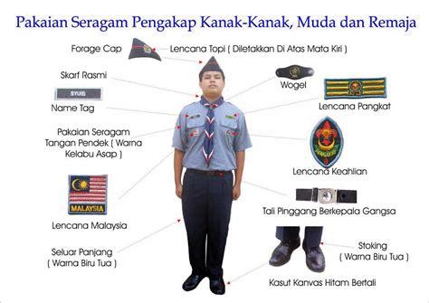 Baju Pengakap Sekolah krppk sk sri setia jaya pemakaian baju pengakap