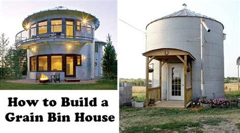 grain bin houses how to build a grain bin home