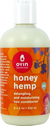 Oyin Handmade Honey Hemp - oyin handmade honey hemp conditioner naturallycurly