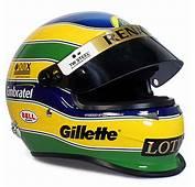 Capacete Bruno Senna Lotus Renault Team 2011 Bell Racing