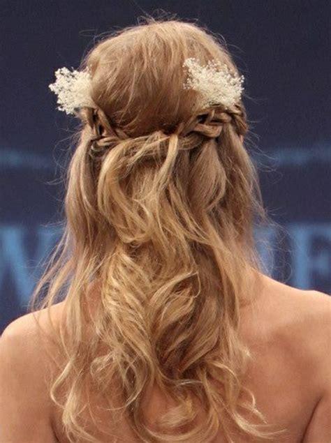 Brautfrisuren Mittellanges Haar Halb Offen brautfrisur halboffen kommen sie mit stil unter die haube
