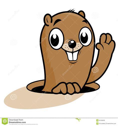 groundhog day characters groundhog character royalty free stock image image 36798296