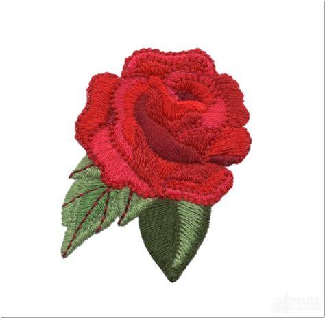 motif bordir bunga mawar  keren