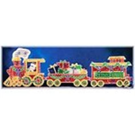 christmas outdoor halogrphic train decoration lighted animated outdoor decoration 11 27 2006