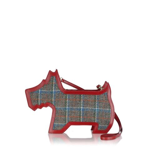 Features Bag Wishlist by Our Radley Scottie Shaped Bag Features Harris Tweed