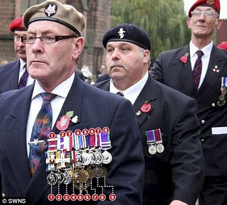 Most Decorated Military Person Fantasist Roger Day Wore Haul Of Fake Medals On