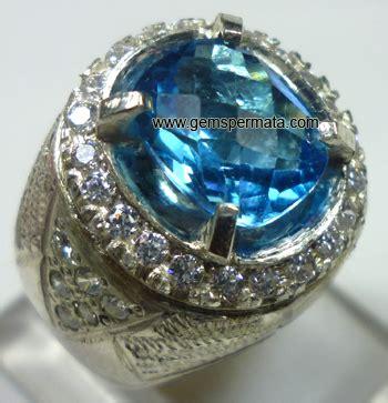 Silver Ring Sv18 Blue Topaz Batu Permata Cincin Perak cincin batu permata blue topaz kode 425 kumpulan segala macam artikel dan berita