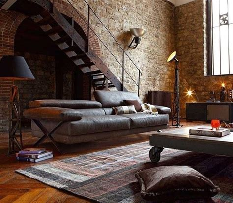Industrial Design Home Decor by 20 Inspirational Industrial Living Room Designs House