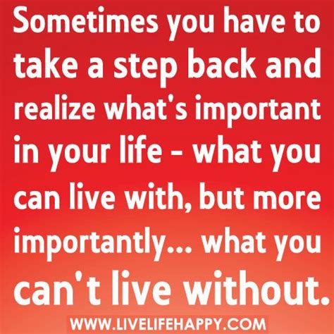 Whats Your Must Essential by Whats Important In Quotes Quotesgram