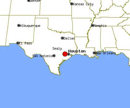 sealy map sealy profile sealy tx population crime map