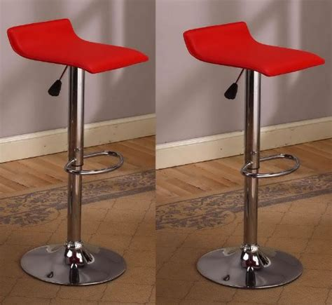 Airlift Stool With Chrome Finish by Bar Stool