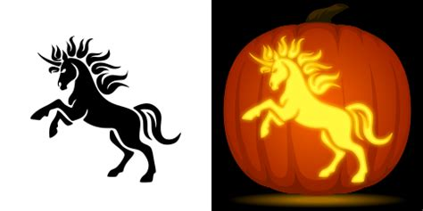 printable unicorn pumpkin stencils scary pumpkins pictures free unicorn pumpkin stencil