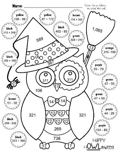 Math Coloring Page 4th Grade by 4th Grade Math Worksheets Coloring Learning
