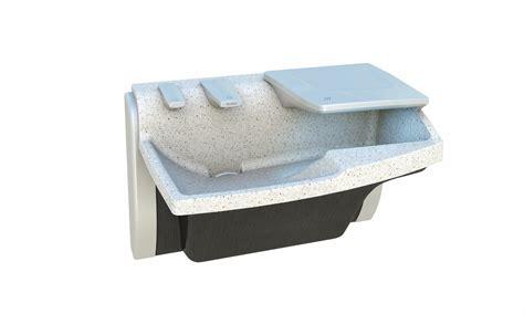 bradley sink with dryer advocate av series 1 station bradley corporation