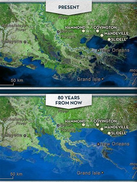 louisiana map climate change the water institute of the gulf addressing coastal
