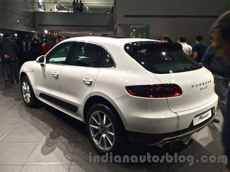 porsche india porsche macan launched in india at rs 1 crore porsche