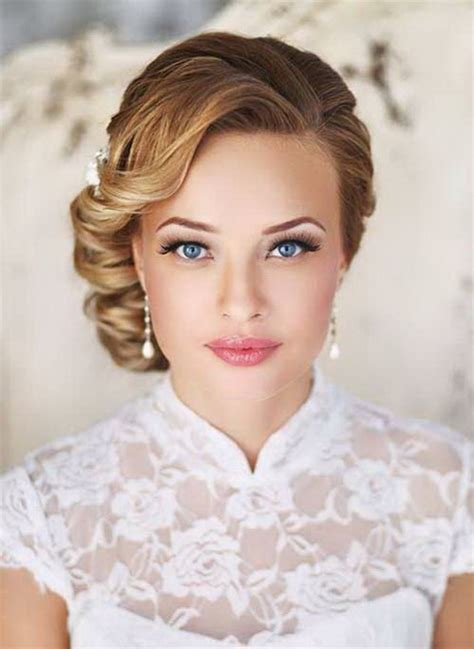 Wedding Hairstyles At The Side Side Style Hairstyles For Weddings